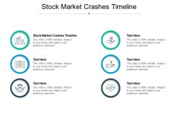 Stock Market Crashes Timeline Ppt Powerpoint Presentation Professional Graphics Template Cpb