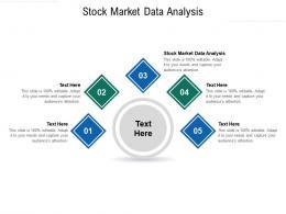 Stock Market Data Analysis Ppt Powerpoint Presentation Gallery Vector Cpb