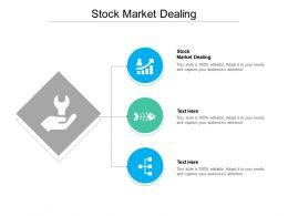 Stock Market Dealing Ppt Powerpoint Presentation Slides Format Cpb