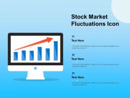 Stock Market Fluctuations Icon
