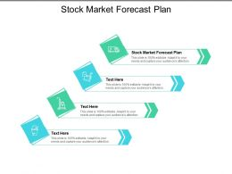 Stock Market Forecast Plan Ppt Powerpoint Presentation Visual Aids Cpb
