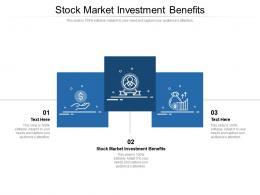 Stock Market Investment Benefits Ppt Powerpoint Presentation Summary Master Slide Cpb