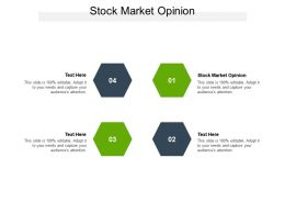 Stock Market Opinion Ppt Powerpoint Presentation Gallery Introduction Cpb