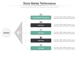 Stock Market Performance Ppt Powerpoint Presentation Slide Cpb