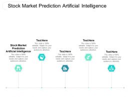 Stock Market Prediction Artificial Intelligence Ppt Powerpoint Presentation Layouts Vector Cpb