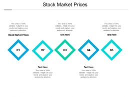Stock Market Prices Ppt Powerpoint Presentation Outline Designs Download Cpb
