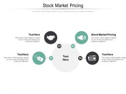 Stock Market Pricing Ppt Powerpoint Presentation Model Ideas Cpb
