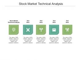 Stock Market Technical Analysis Ppt Powerpoint Presentation Pictures Elements Cpb