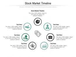 Stock Market Timeline Ppt Powerpoint Presentation Ideas Portfolio Cpb