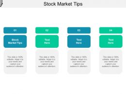 Stock Market Tips Ppt Powerpoint Presentation Ideas Slides Cpb