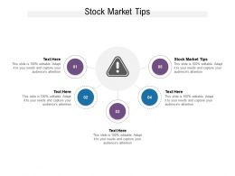 Stock Market Tips Ppt Powerpoint Presentation Model Show Cpb