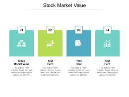 Stock Market Value Ppt Powerpoint Presentation Outline Portrait Cpb