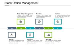 Stock Option Management Ppt Powerpoint Presentation Samples Cpb