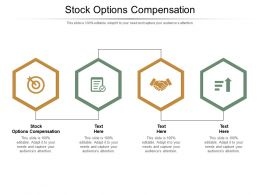 Stock Options Compensation Ppt Powerpoint Presentation Portfolio Picture Cpb