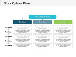 Stock Options Plans Ppt Powerpoint Presentation Icon Aids Cpb