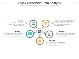 Stock Ownership Data Analysis Ppt Powerpoint Presentation Infographic Template Cpb