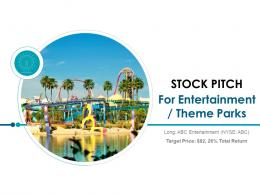 Stock Pitch For Entertainment Powerpoint Presentation Ppt Slide Template