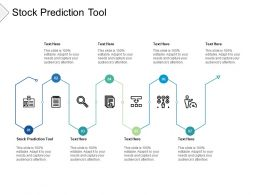 Stock Prediction Tool Ppt Powerpoint Presentation Icon Outfit Cpb