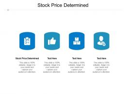 Stock Price Determined Ppt Powerpoint Presentation Styles Infographics Cpb