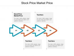 Stock Price Market Price Ppt Powerpoint Presentation Infographics Template Cpb