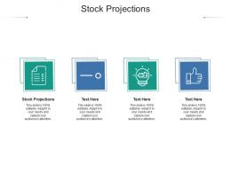 Stock Projections Ppt Powerpoint Presentation Summary Show Cpb