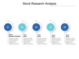 Stock Research Analysis Ppt Powerpoint Presentation Ideas Templates Cpb