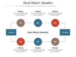 Stock Return Valuation Ppt Powerpoint Presentation Slides Graphic Images Cpb