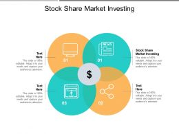 Stock Share Market Investing Ppt Powerpoint Presentation Styles Slides Cpb