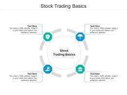 Stock Trading Basics Ppt Powerpoint Presentation Summary Vector Cpb