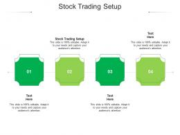 Stock Trading Setup Ppt Powerpoint Presentation Infographics Deck Cpb