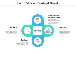 Stock Valuation Dividend Growth Ppt Powerpoint Presentation Summary Format Cpb