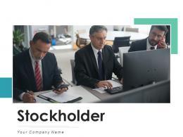 Stockholder Performance Communication Organization Growth Illustrating