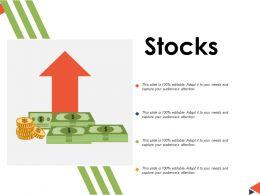 Stocks Ppt Powerpoint Presentation File Summary