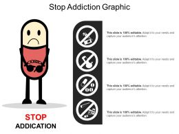 Stop Addiction Graphic