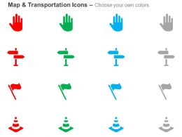 stop_sign_signboard_flag_traffic_cones_ppt_icons_graphics_Slide02