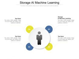Storage Ai Machine Learning Ppt Powerpoint Presentation Model Show Cpb