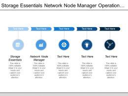 Storage Essentials Network Node Manager Operation Orchestration Service Manager