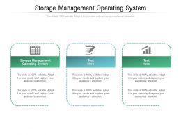Storage Management Operating System Ppt Powerpoint Presentation Icon Microsoft Cpb