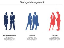 Storage Management Ppt Powerpoint Presentation Gallery Show Cpb