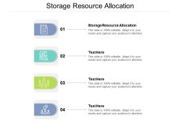 Storage Resource Allocation Ppt Powerpoint Presentation Outline Background Images Cpb