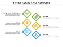 Storage Service Cloud Computing Ppt Powerpoint Presentation Gallery Show Cpb