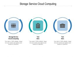 Storage Service Cloud Computing Ppt Powerpoint Presentation Inspiration Cpb