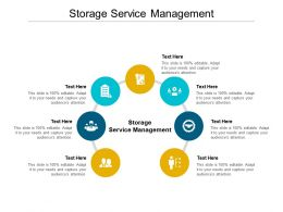 Storage Service Management Ppt Powerpoint Presentation Professional Outline Cpb
