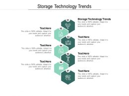 Storage Technology Trends Ppt Powerpoint Presentation Show Display Cpb