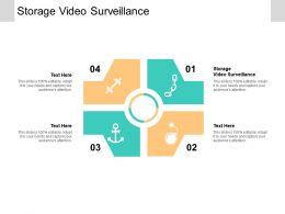 Storage Video Surveillance Ppt Powerpoint Presentation Slides Themes Cpb