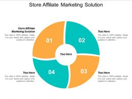 Store Affiliate Marketing Solution Ppt Powerpoint Presentation File Ideas Cpb