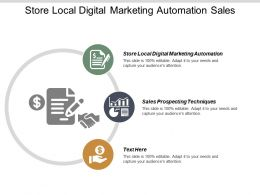 Store Local Digital Marketing Automation Sales Prospecting Techniques Cpb