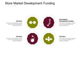 Store Market Development Funding Ppt Powerpoint Presentation Infographic Cpb