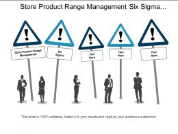 Store Product Range Management Six Sigma Affiliate Marketing Cpb