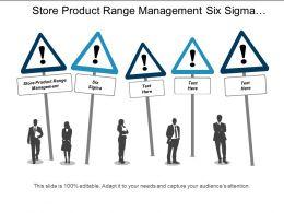 store_product_range_management_six_sigma_affiliate_marketing_cpb_Slide01